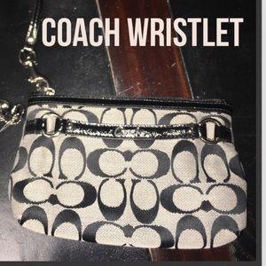 Authentic Coach wristlet